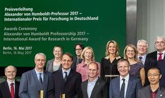 Alexander von Humboldt Professorship Award Ceremony in Berlin on May 16, 2017