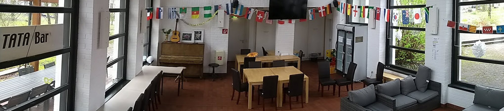 Our TATA bar is maintained by volunteers and offers a relaxing atmosphere to sit down for drinks, music and nibblings. While always open, the MPIPZ staff gets together on Thursday evenings for organised events. These are typically organised by a group of colleagues from one cultural environment and feature local specialties to celebrate our internationality.